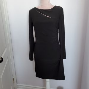 2/20$-Le Chateau black dress sz M
